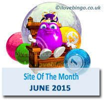 888 ladies bingo site of the month June 2015