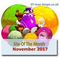 November-2017 bingo site of the month