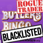 Butler's Bingo Blacklisted