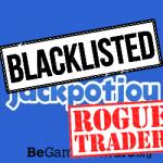 Jackpotjoy Bingo rogue trader