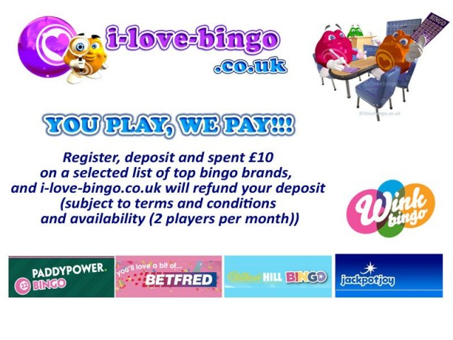 You play & Review, i-love-bingo pay